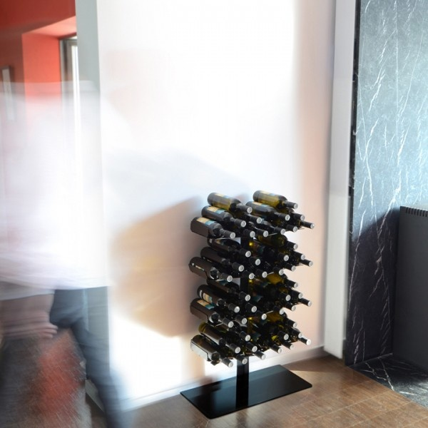 Botellero-Leñero pie Tree. Radius design