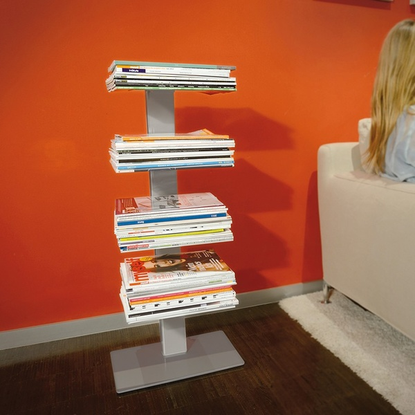 Revistero de pie Booksbaum. Radius design