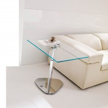 Mesa auxiliar elevable Move. Ozzio Design
