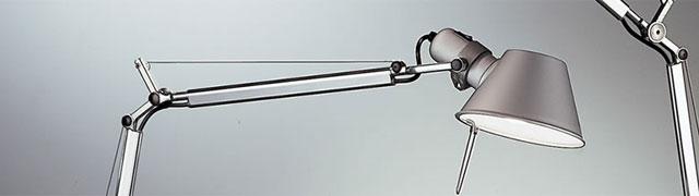 Comprar lampara tolomeo artemide en Muebles Lluesma Valencia, Barcelona, Madrid, Bilbao, Zaragoza, Sevilla, Alicante. Tienda de lamparas online. Comprar lamparas de diseño a buen precio. Luces modernas y de diseño