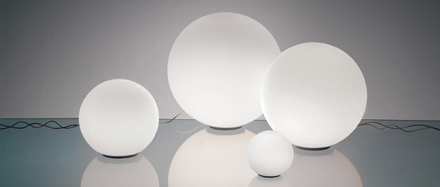 Artemide Iluminacion, Lamparas de diseño contemporaneo para hogar oficina e instalaciones. Catalogo Artemide en Muebles Lluesma
