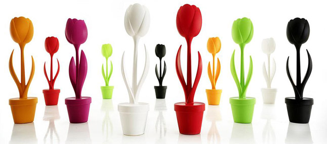lampara myyour en forma de tulipa modelo Tulip XL