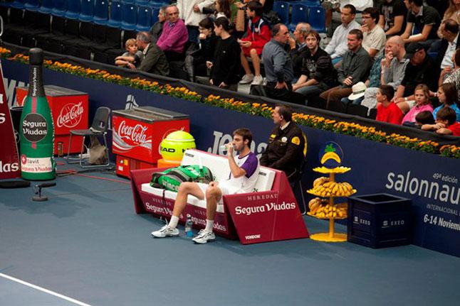 sofá Rest de Vondom de A-cero Open 500 de tenis de Valencia
