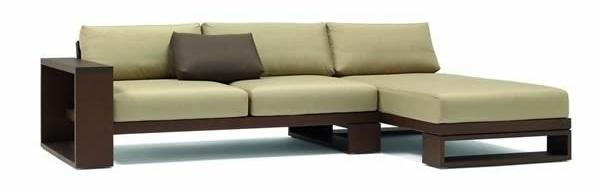 sofá 2 plazas y chaise longue de andreu world