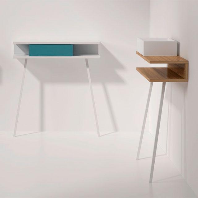 Mobiliario moderno Arlex. Consola Passing recibidor original