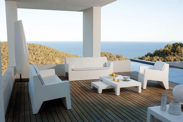 Oferta mobiliario exterior contempor neo - Divano in resina da esterno ...