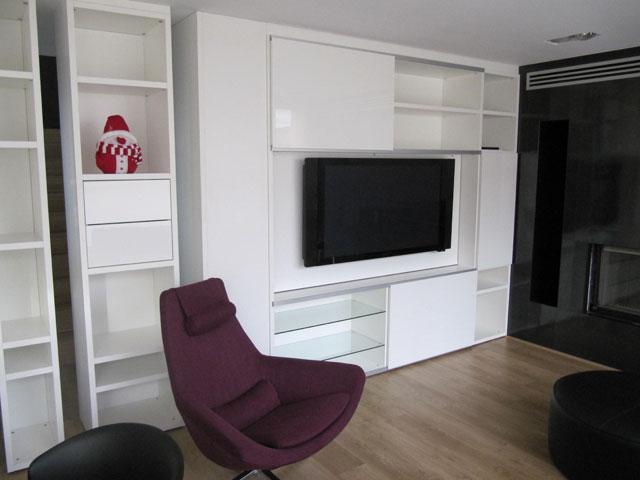 salón-comedor muebles modernos