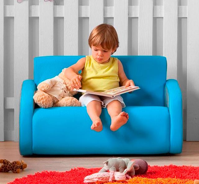 Sofas pequeños firma muebles infantiles Gegant