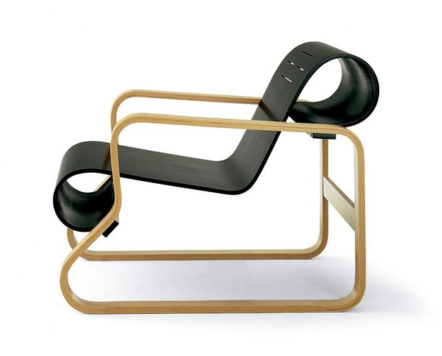 Butaca diseño de Alvar Aalto online. Alivar