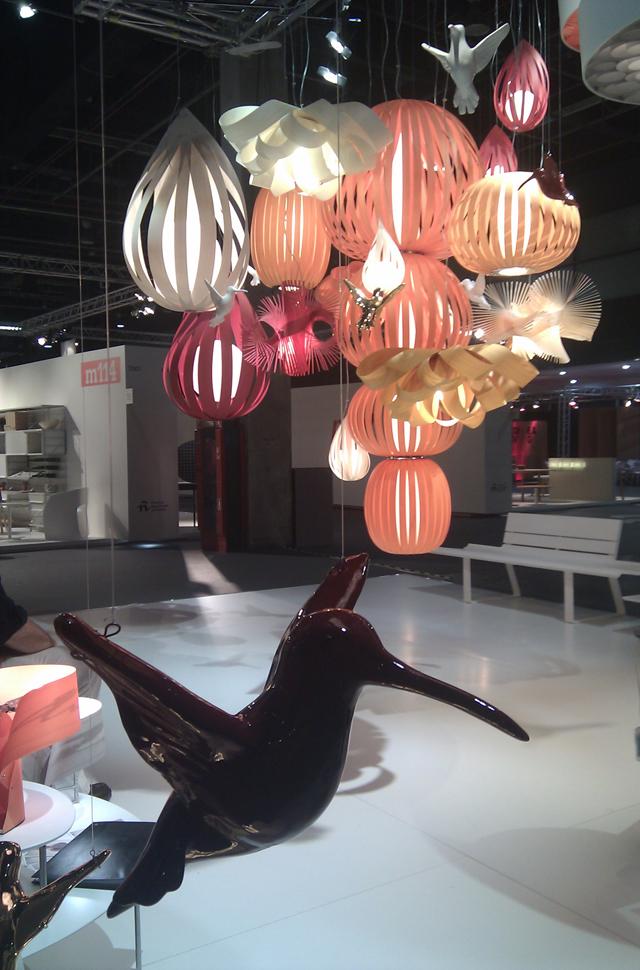 Stand lámpara diseño Luzifer