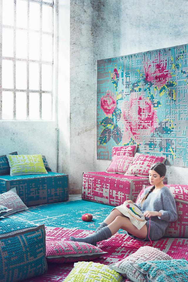 Catálogo online pufs, alfombras, cojines, espacio canevas