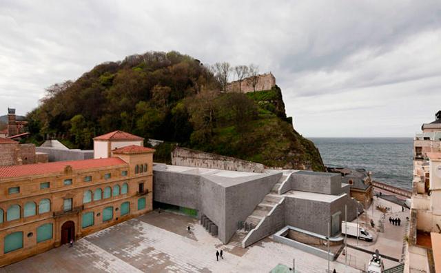 Panorámica Museo San Telmo San Sebastián