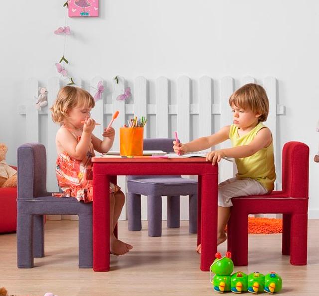 Sillas y mesas infantiles Gegant online