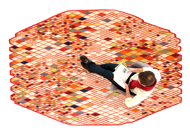 Comprar online alfombra diseño colección Losanges