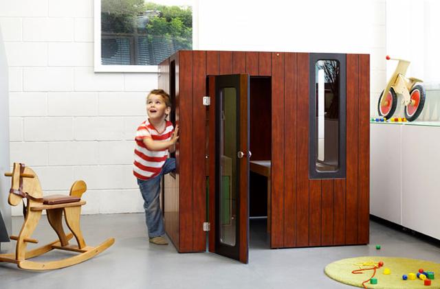 Casita Hobbikken Indoor de Smartplayhouse