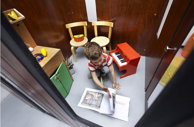 Interior casita para niños Hobbikken