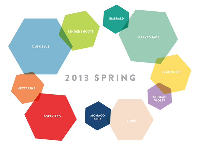 Colores shocking 2013