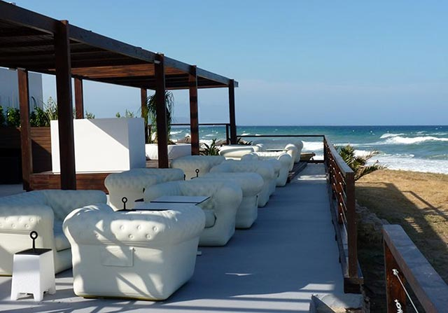 Sofas hinchables exterior