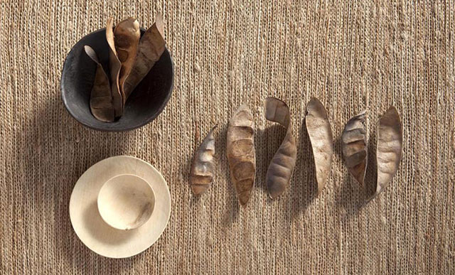 Alfombra de yute Knitted de la colección Natural de Nanimarquina