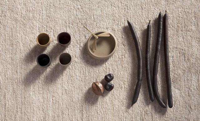 Alfombra de fibra de ortiga Nettle de Nanimarquina