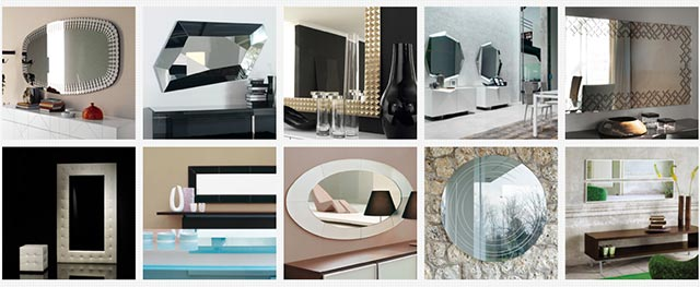 Espejos modernos Cattelan