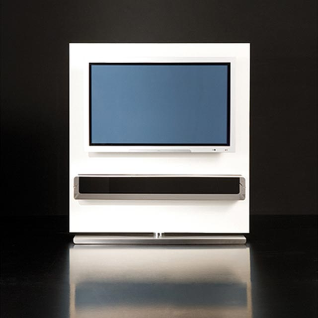 Mesas televisi n pantalla plana for Mueble con soporte para tv