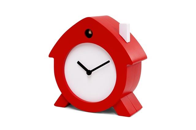 Reloj moderno Home Sweet home