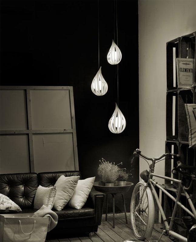 Raindrop-Cluster-LZF-lamps