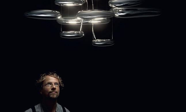 Lámpara suspensión Mercury de Artemide
