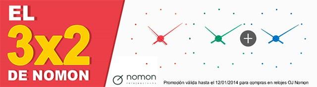 Reloj OJ nomon-3x2