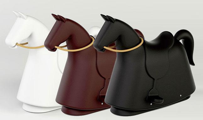 tres colores caballo balancin