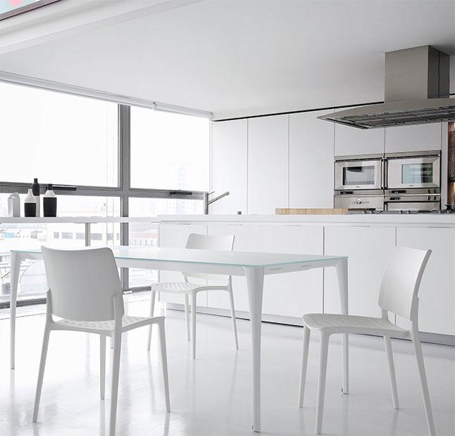 Asombroso Mesas Y Sillas De Cocina Moderna Composición - Ideas de ...