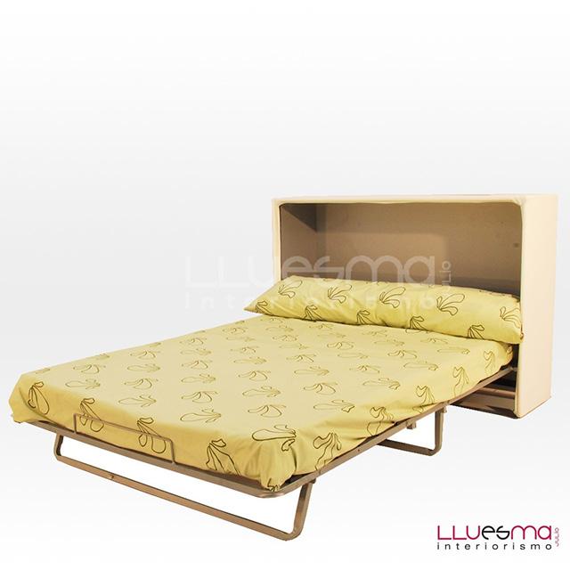 cama plegable colchón grande