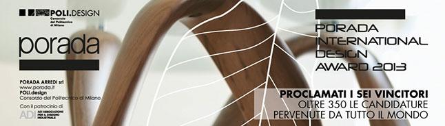 Premio de diseño 2013 de Porada