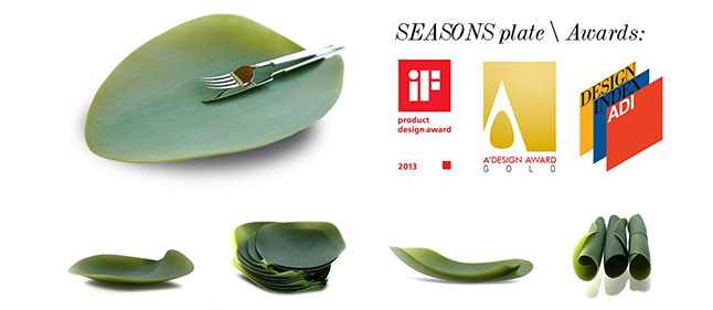 Plato flexible Seasons de Covo