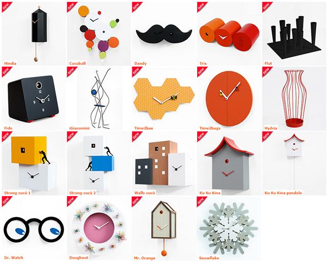 Relojes y complementos Progetti 2014