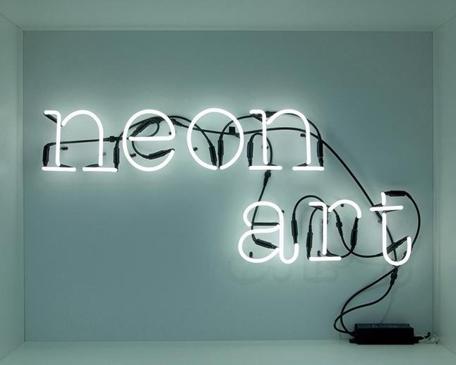 Rótulo Neon Art de Seletti