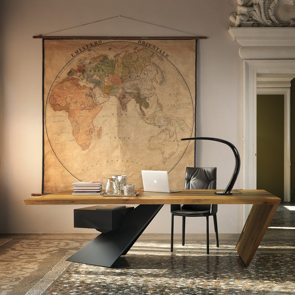 mesas de diseño para despachos modernos