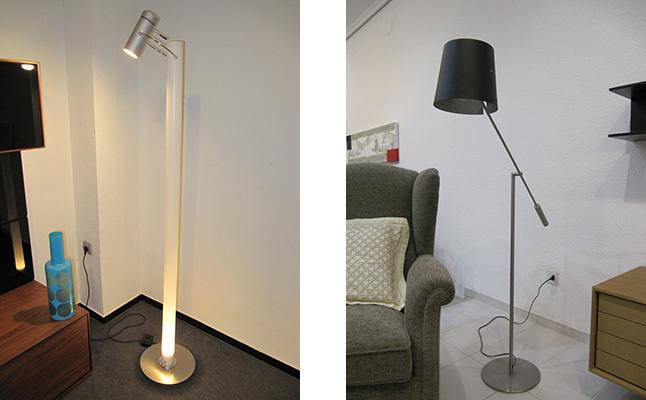 Lámparas de pie de diseño
