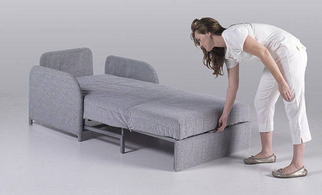 Puf cama sofa cama o mueble cama para acompa ar a nuestro for Sillon cama pequeno