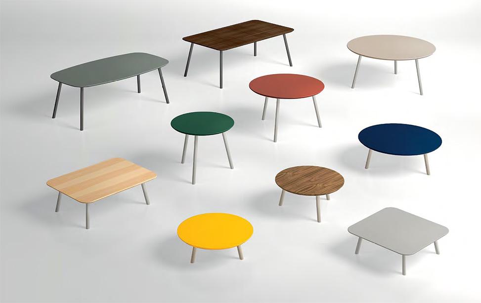 Mesas y mesas auxiliares Layers