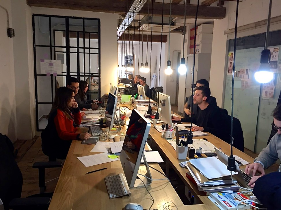 Muebles Lluesma visita el estudio creativo de Cul de Sac