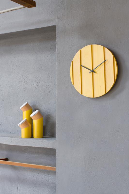 Reloj Parallels. Omelette-Ed. Muebles Lluesma.