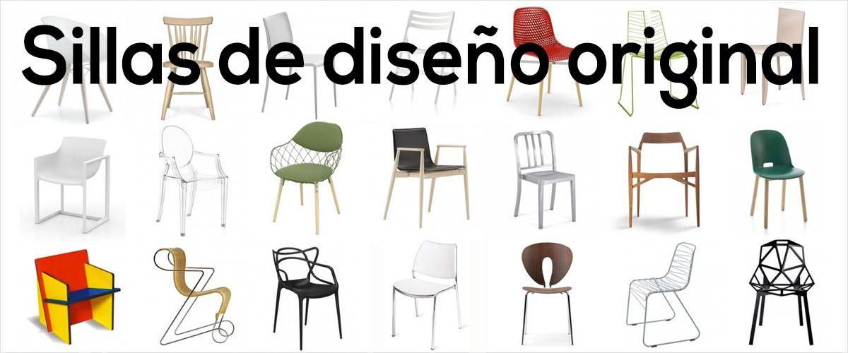 Sillas de dise o original muebles lluesma for Sillas de diseno online