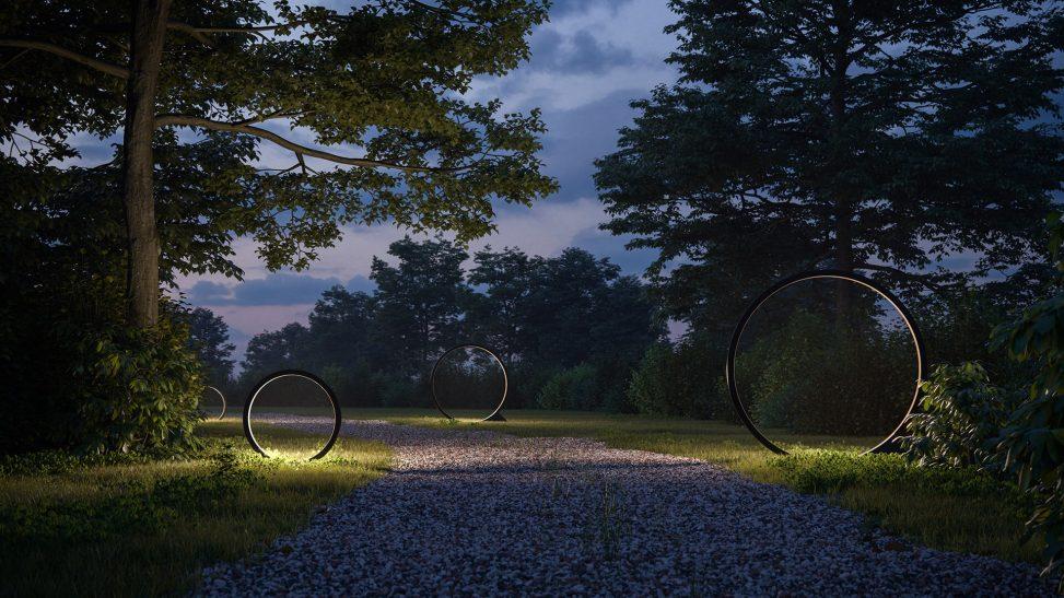 iluminación de exterior artemide