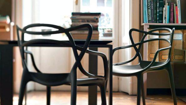 sillas de comedor de diseño - masters de kartell