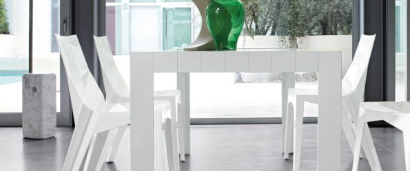 sillas de comedor - poly de bonaldo