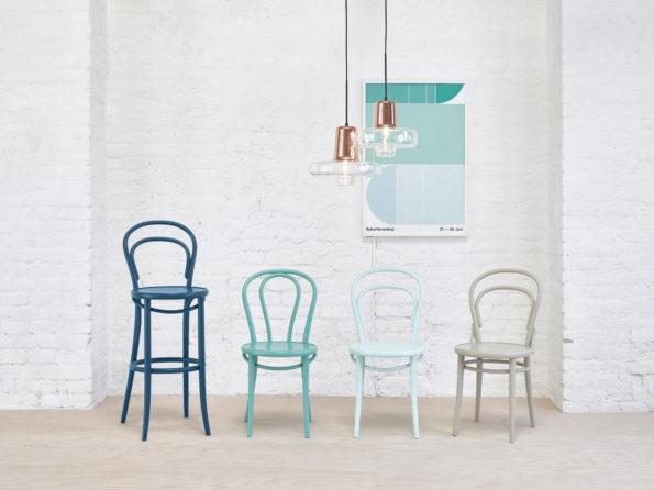 sillas de comedor - silla ton14