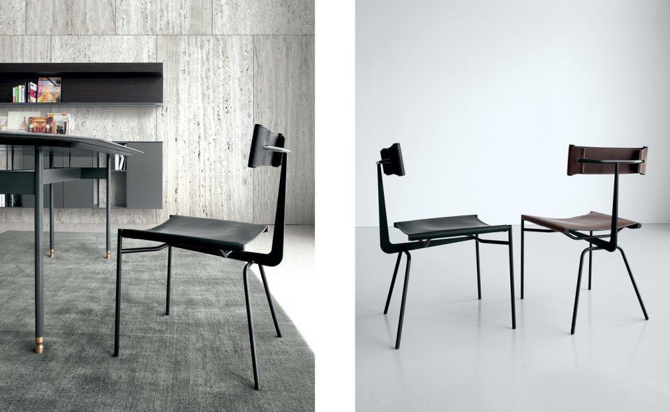 muebles en negro