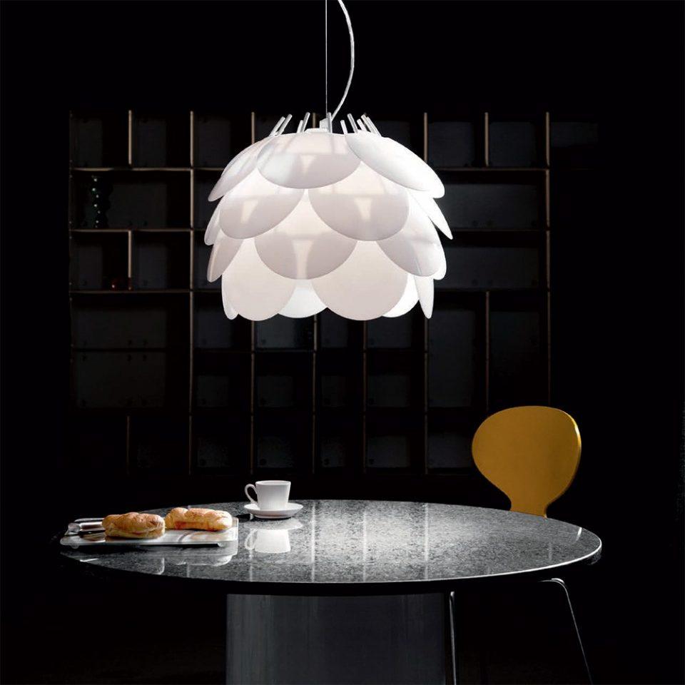 iluminar la mesa de comedor